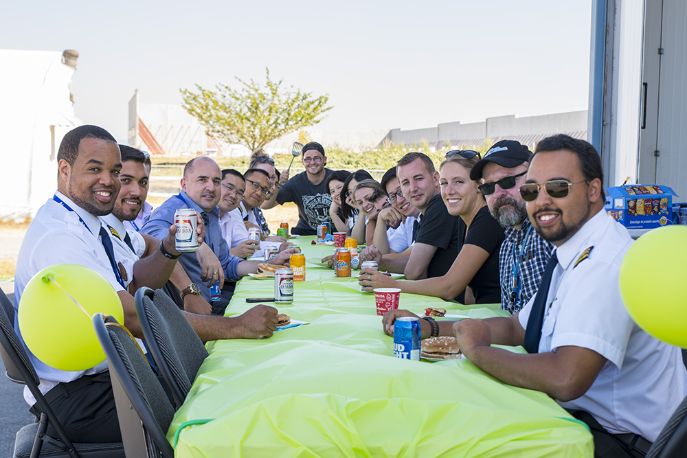 Montair staff BBQ