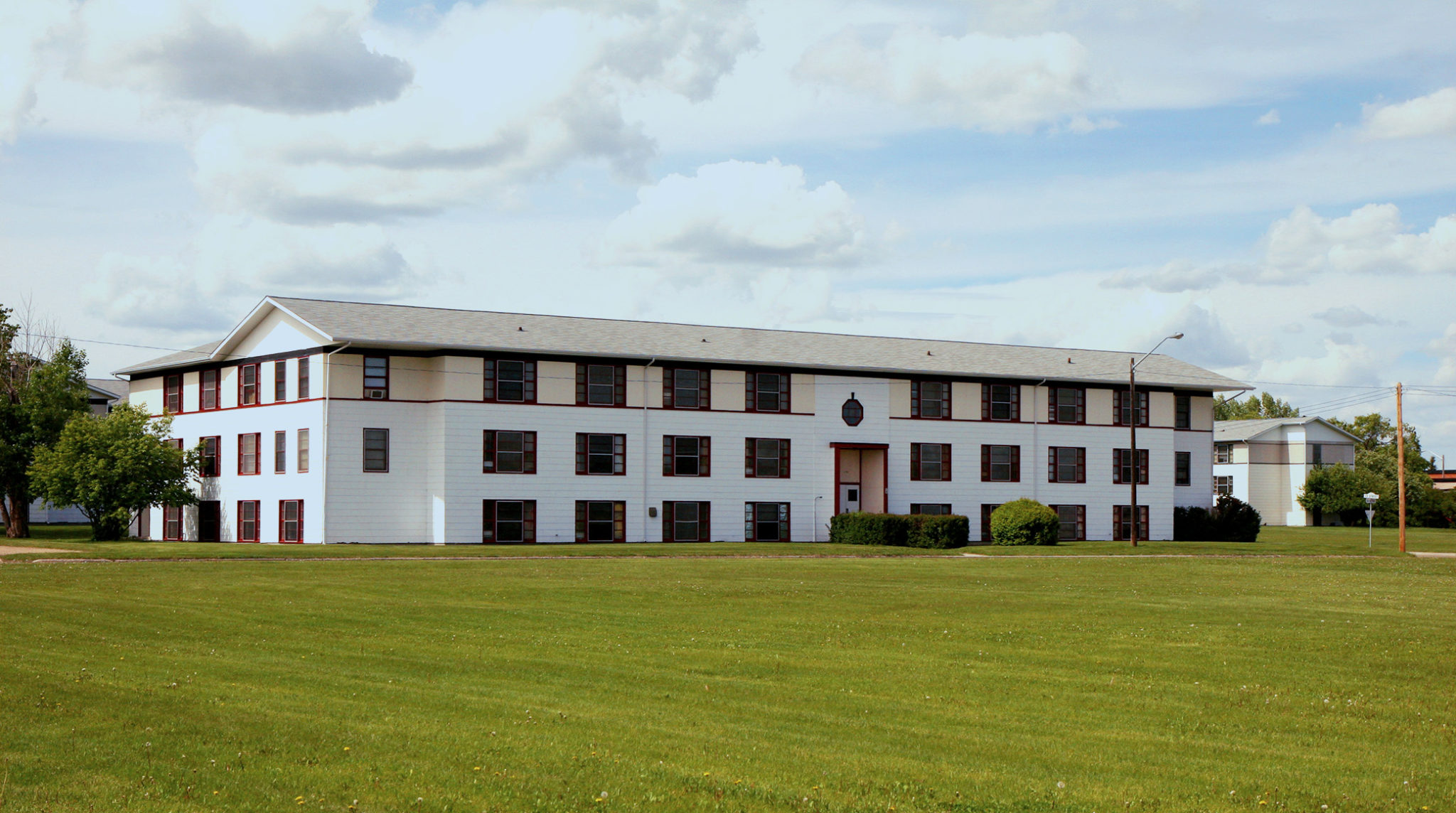red deer student accommodation building 2